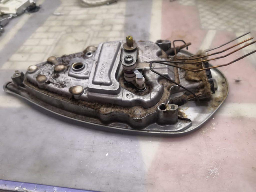 фото ремонта утюга